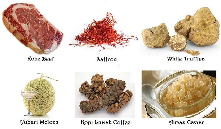 Najdrahšie potraviny na svete. - LajfHeky