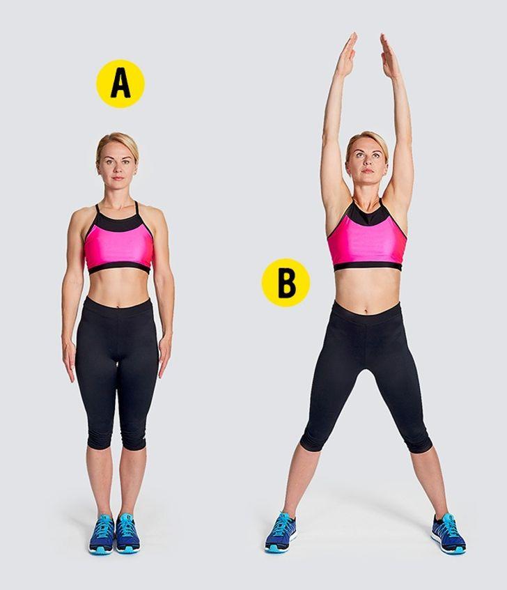 4-minútové cvičenie - Poskoky