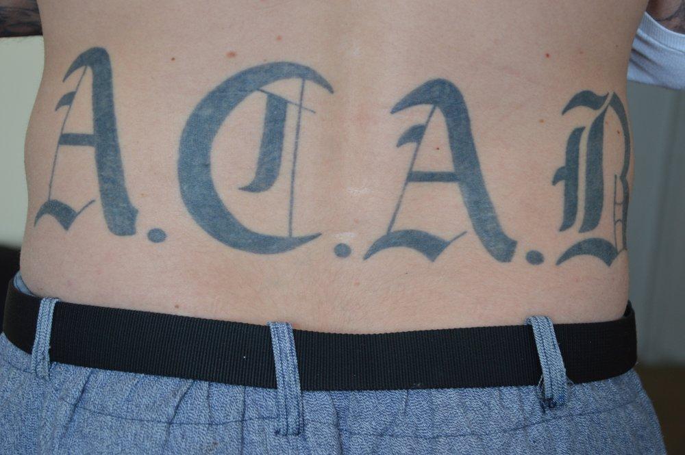 A.C.A.B tetovanie