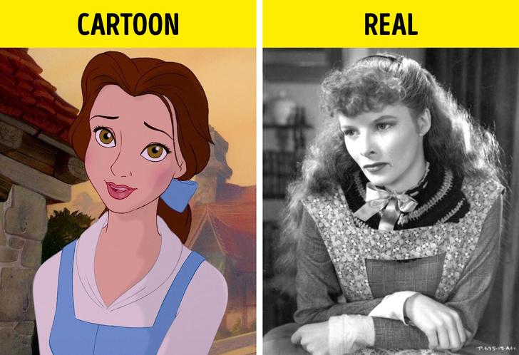Belle a Katharine Hepburn