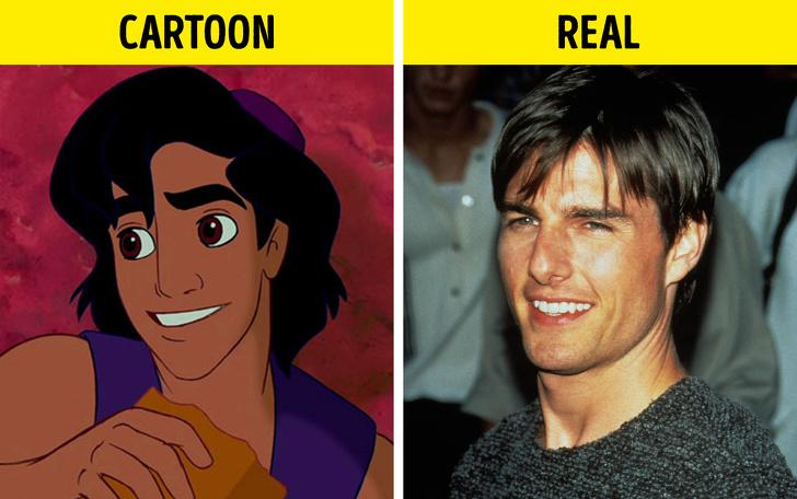 Aladdin a Tom Cruise