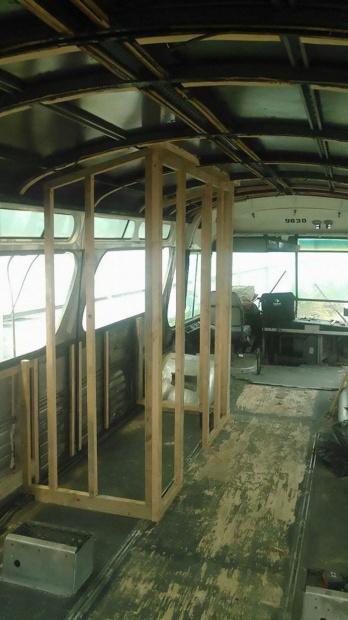 Autobus prerobený na dom