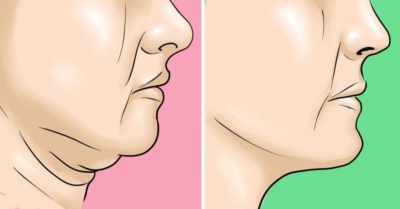 Cviky na dvojitú bradu