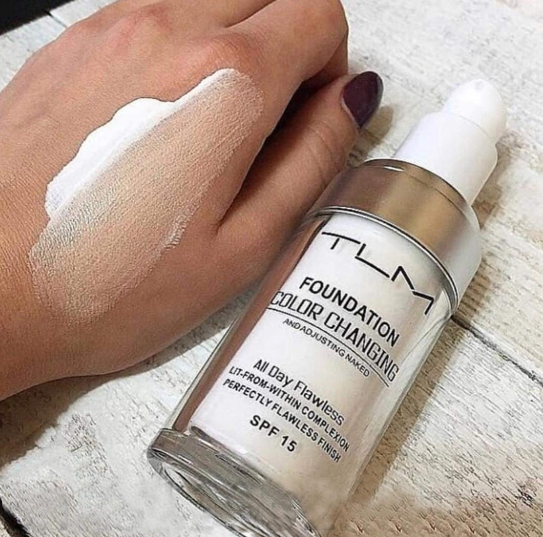 Make-up s pigmentom TLM